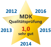 MDK Prüfung 1,0 - 5 Jahre in Folge